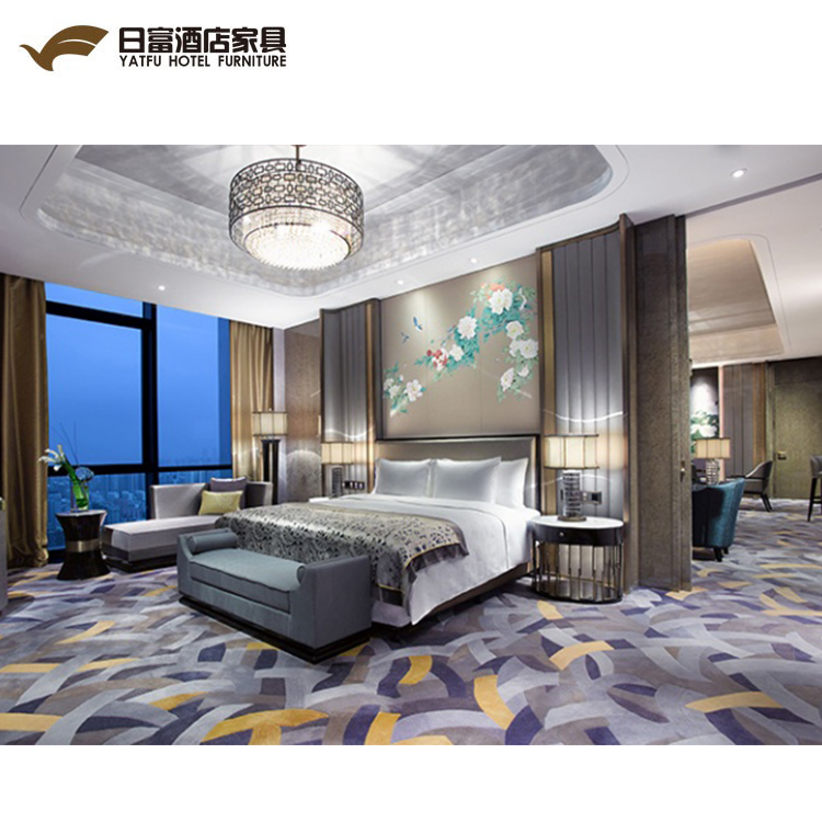 5 stelle Di Lusso Foshan Hotel Room Furniture Set