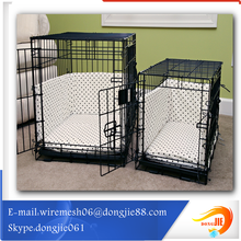 Standard size chrome steel dog cage