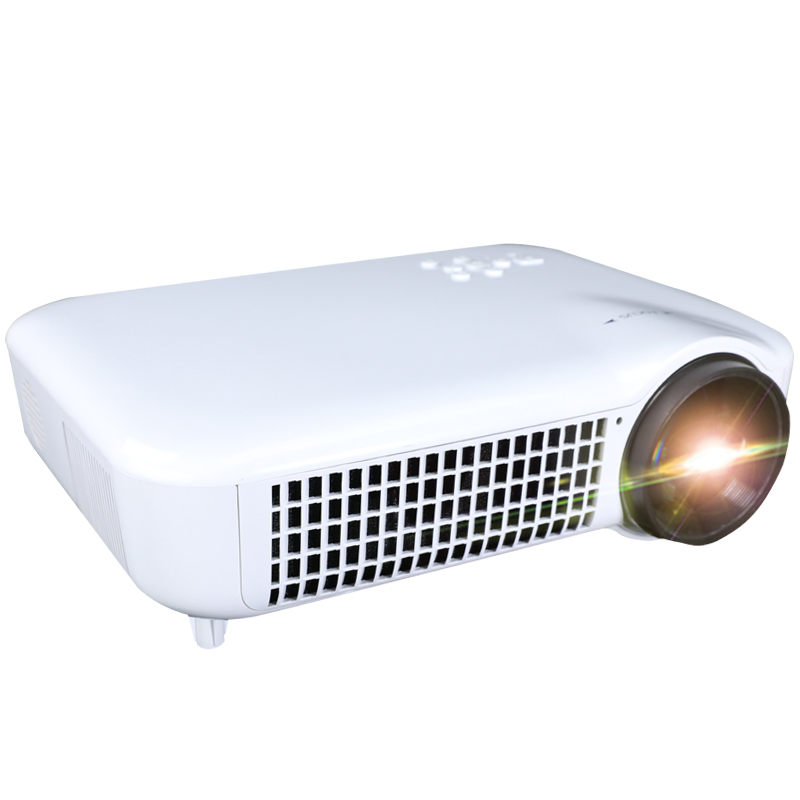 Kualitas Tinggi Android Smart Mini Projector Wifi 4 K LED