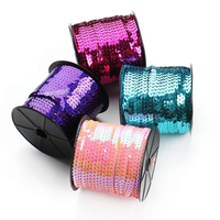 Buy Now Hot Sale Scratch Two Color Pet Embroidery Cheap Sequin Bag Reel Toy Roll