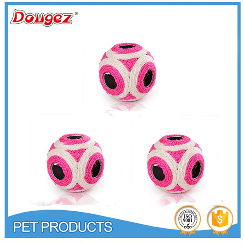 2015 New Colorful Sisal Toy Ball Cat Of Pet Hot Sale