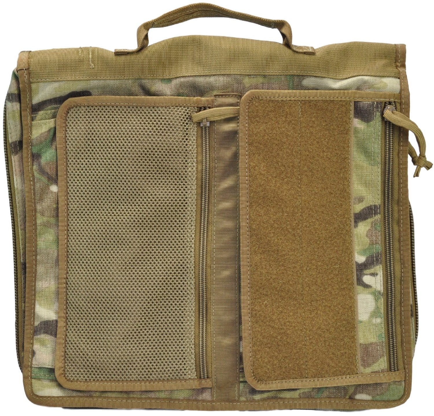 Buy Tactical 3-Ring Binder Cover, Large, Zippered Military