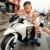 Cheap price 2-10 years old toy 6V4AH motorcycle electric kids / baby motorcycle