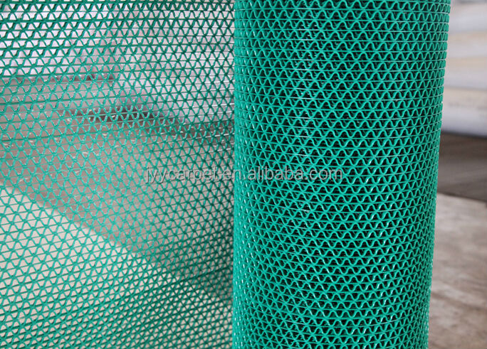 Pvc Plastic Carpet Mats/pvc S/z Model Anti-slip Pvc Mat