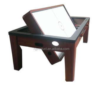 dbc8683509238 Hot sale rotating 3 in 1 multi game table dining top air hockey pool table  with
