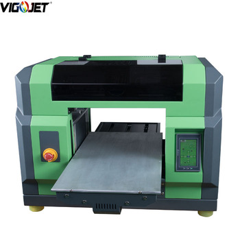 3D UV printer, UV flatbed printer A3 size digital printing machine voor hout/glas/acryl/telefoon case