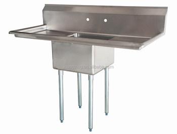 Sri Lanka Double Bowl Stainless Steel Commercial Kitchen Sink