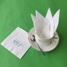OEM 23x23cm 2ply customized printed paper napkin tissue