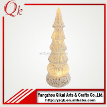 Factory wholesale glass christmas tree for holiday decoration