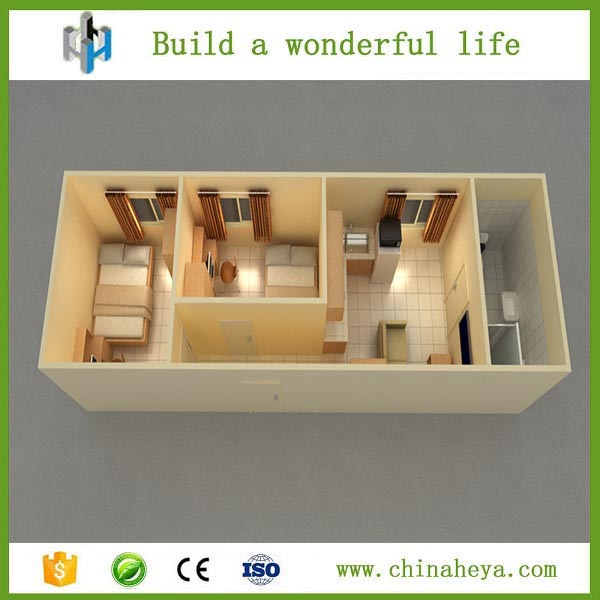 Heya moderne fertig strand container haus kit h user for Container haus anbieter