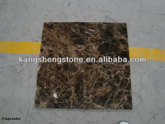 High quality marble tile emperador dark