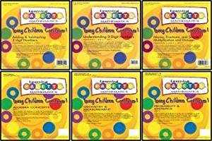 2nd Grade Math Learning Palette 6 Pack