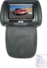 7inch car Headrest monitor seat headrest covers DVD player
