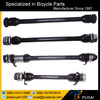 "Bicycle Rear Hub Axle 3/8"" x 185mm Black. Road MTB BMX Cruiser Bike Spindle"