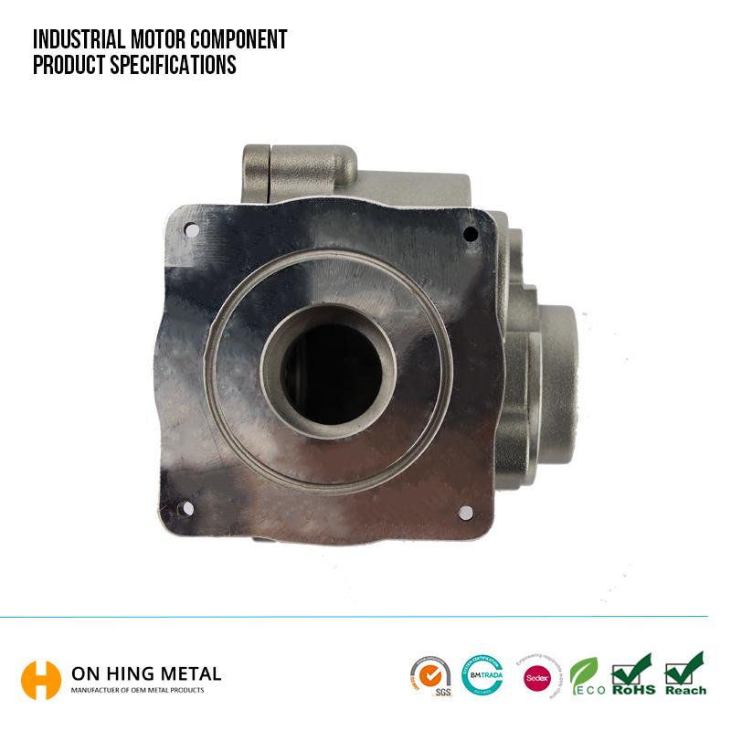 China Supplier Aluminium Die Casting Electric Motor Engine