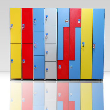 high density  hpl hospital   lockers
