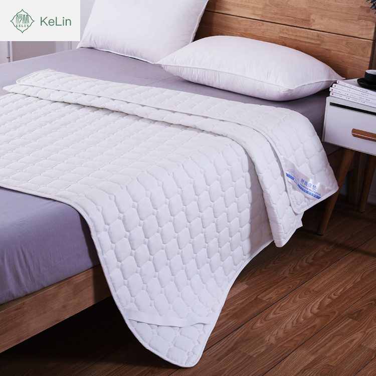 china supplier wholesale 100% comfort polyester nursing mattress protector