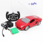 Very low price 4CH make remote control car with light+charger+battery