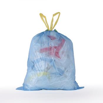 Small Drawstring Trash Bags For Bathroom Kitchen Office Waste Bin Wastebasket 4