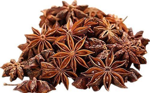 Get Quotations · Soeos Star Anise Seeds (Anis Estrella), Whole Chinese Star  Anise Pods, Dried