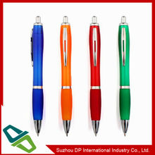 Cheap Price Logo Printed Plastic Promotion Pen with Metal Clip