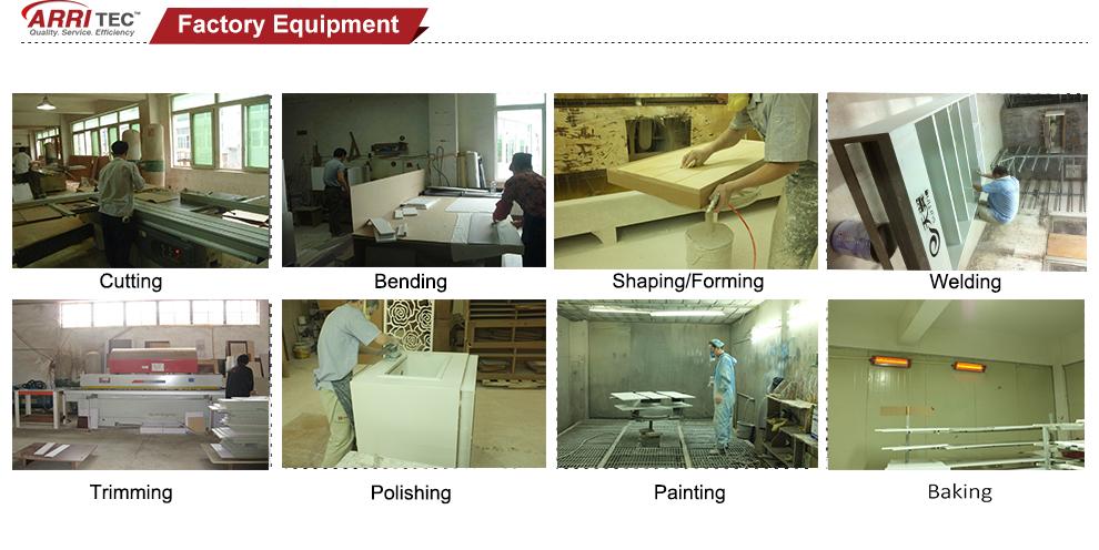High-end Acryl Panel Aluminium Abschließbaren Stangen Für ...