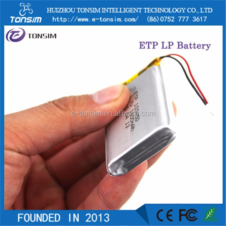 Lp103450 Lipo Battery Li-po 103450 3.7v 1800mah Lp 103450 Lithium ...