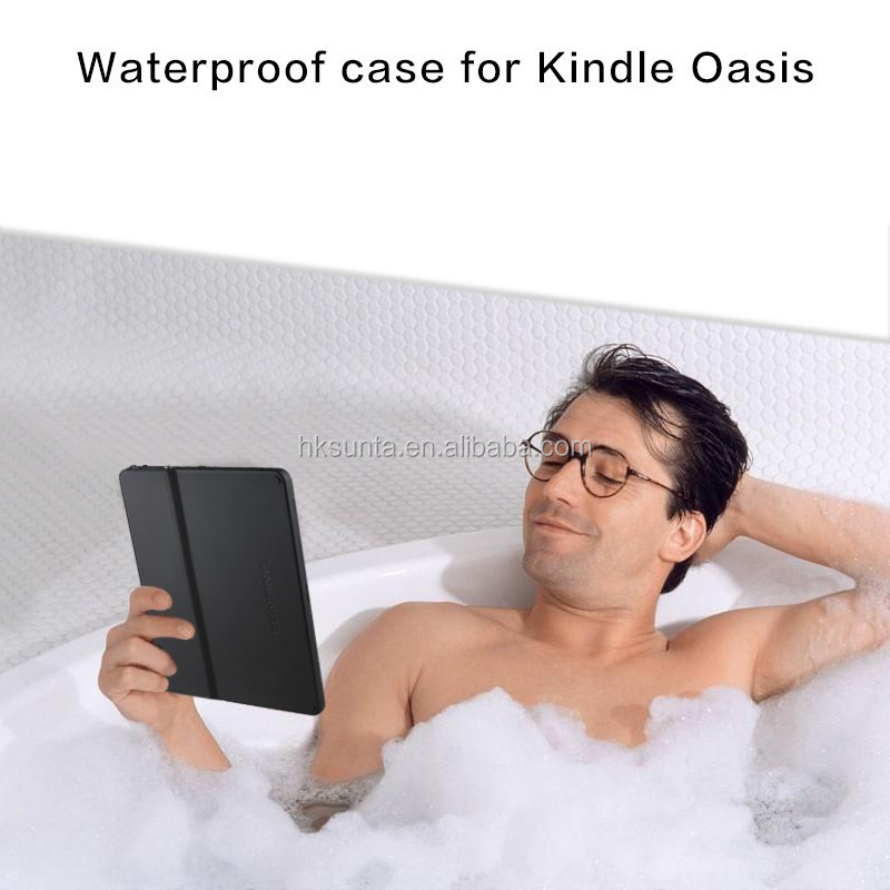 high quality ebook reader case for kindle oasis waterproof case