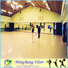 2015 Anti-slip Super Durability Dance Homogeneous Recycled PVC Flooring
