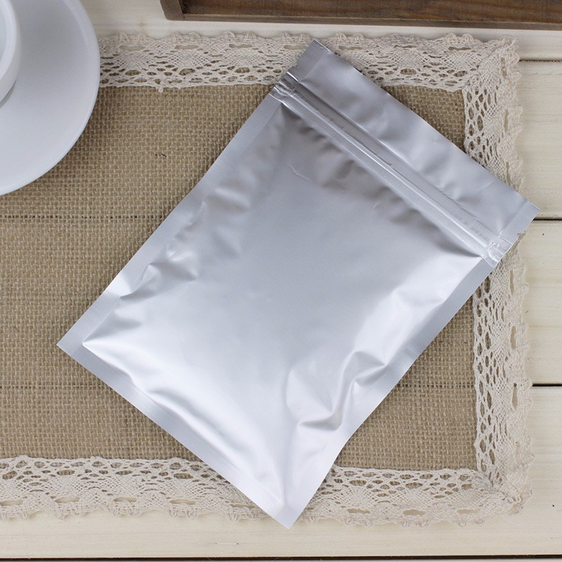 Three Sides Heat Seal Aluminum Laminated Foil Pouch Color Bag For Facial Mask