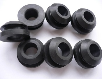 wire harness rubber grommet , rubber seal for cable , groove rubber grommet