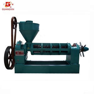 SOYAbean oil manufacturing machine/sunflower oil pressing machine Guangxin YZYX120J with high oil yield