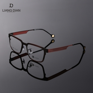 Fashionable pure titanium stock cat eye glasses frames in wenzhou