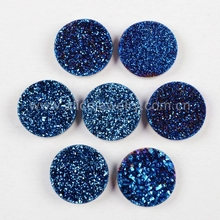 AJGS-006 10mm Ronde Agaat <span class=keywords><strong>Druzy</strong></span> Bulk Cabochon <span class=keywords><strong>Groothandel</strong></span>