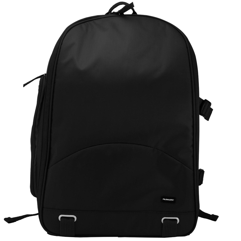 Filemate 3FMCG220BK2-R ECO Deluxe SLR Camera Backpack (Black)