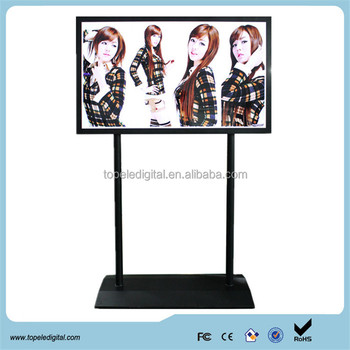 65 inch oled touch screen display,connect computer kiosk stand advertising display,divx player