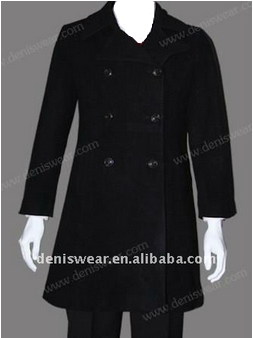 lady woolen formal coat