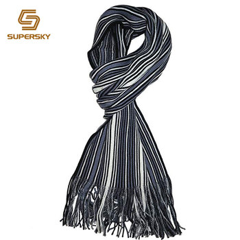 Mens Striped Knit Scarf Vertical Striped Knit Scarf Buy Vertical
