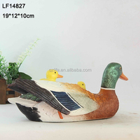 garden statue duck/resin garden duck/duck garden decoration