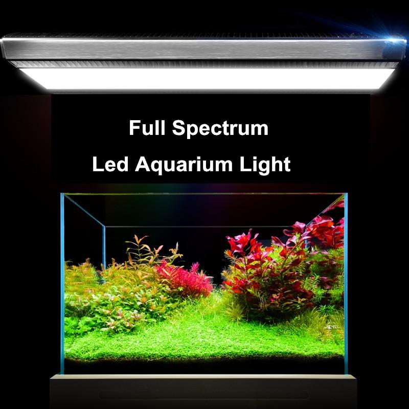 Trade assurance aquarium led lighting WRGB 7250K full spectrum 50W SMD freshwater small aquarium light