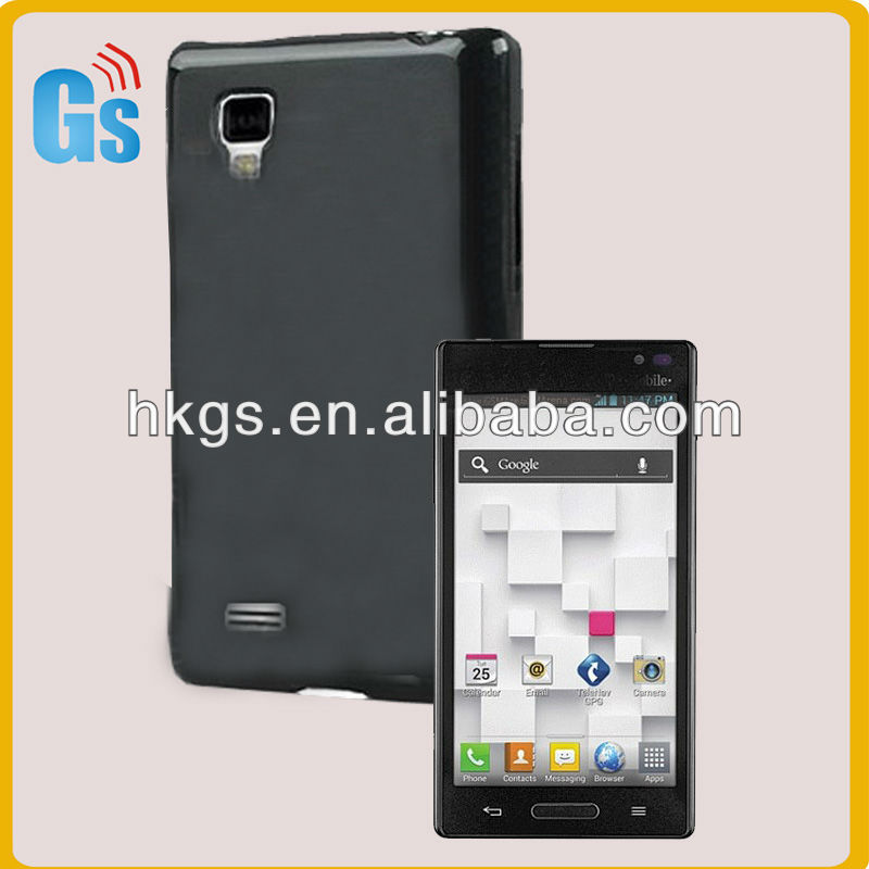Optimus L9 P769 Tpu Silicon Pudding Style Protector Case Cover