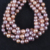 12-16mm Pink Purple color edison natural freshwater pearl strand,16 inches