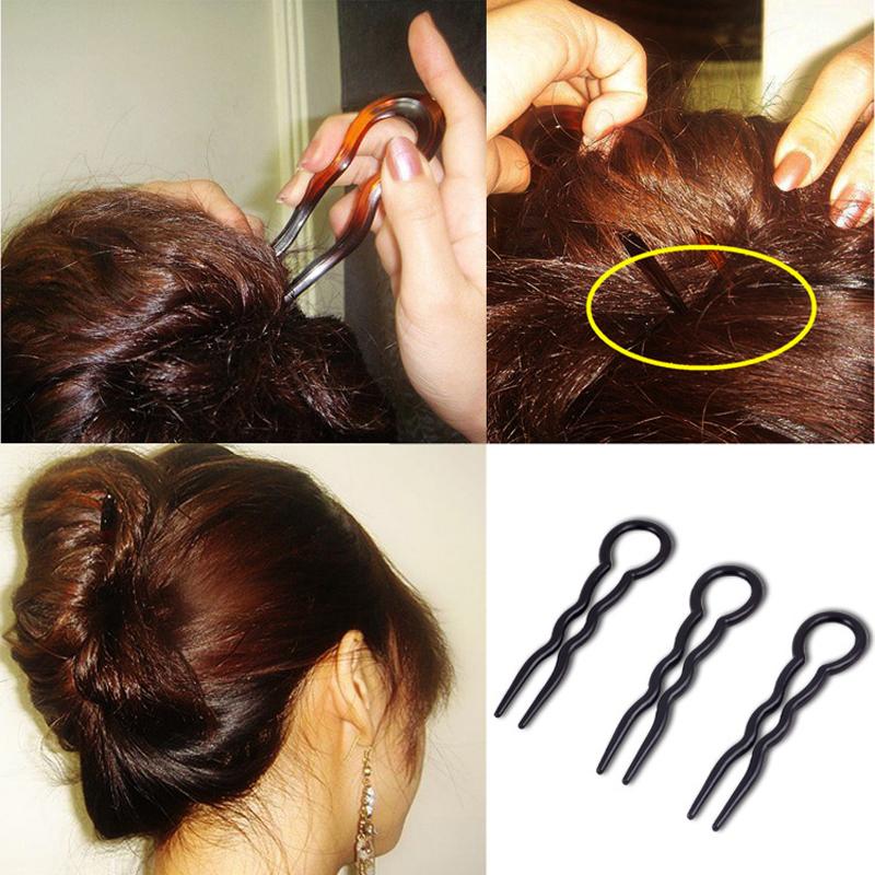 3pcs/pack Hair Braiding Tools Clips Magic Fast Easy Messy ...