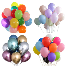 Usine vente directe 12 ''100% ballon en latex standard pastel métallique chromé couleur uni <span class=keywords><strong>ballons</strong></span> en latex