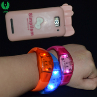 Wedding And Party LED Hand Band, Music Active Bracelet, LED Motion Wristband