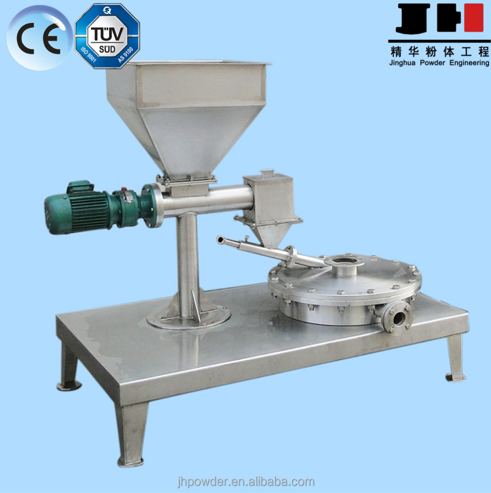 Weifang Jinghua Powder lab disc jet mill for hard material