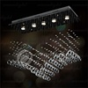 Best selling Modern LED glass lampshade metal,crystal luxury hotel chandelier OM6833