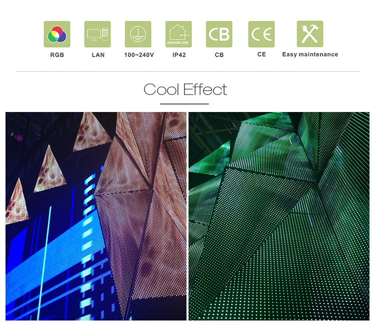 Dj Wall Light Disco Lamp 3d Led Video Wall Screen