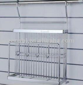 Kitchen Accessories Stainless Steel Untensil Rack Kh12