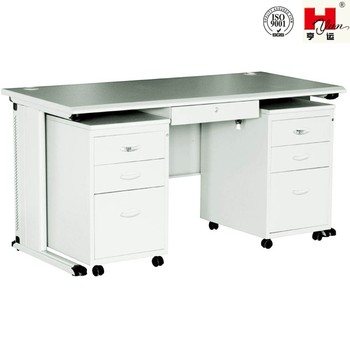 Portable Furniture fice Desk With Movable Cabinet Buy